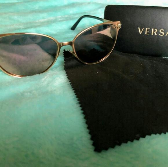 Versace Womens Sunglasses Metal